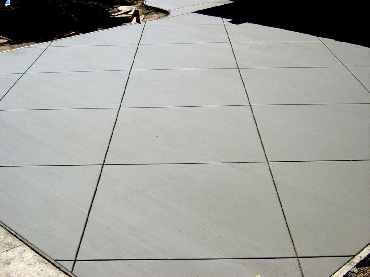 Stamped Concrete Expansion Joints : Concrete patio expansion joint crunchymustard